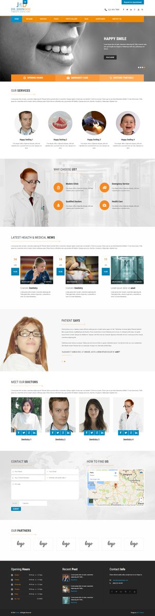 Free Dentist WordPress Themes for Dental Clinics and Dentistry Websites -  https:// goo.gl/goYKpL  &nbsp;                     #DentistWordPressThemes #WordPressThemes #DentalTemplates #DentistryTemplates #web #free #template #website #dev #HTML #CSS<br>http://pic.twitter.com/lwElzhc433