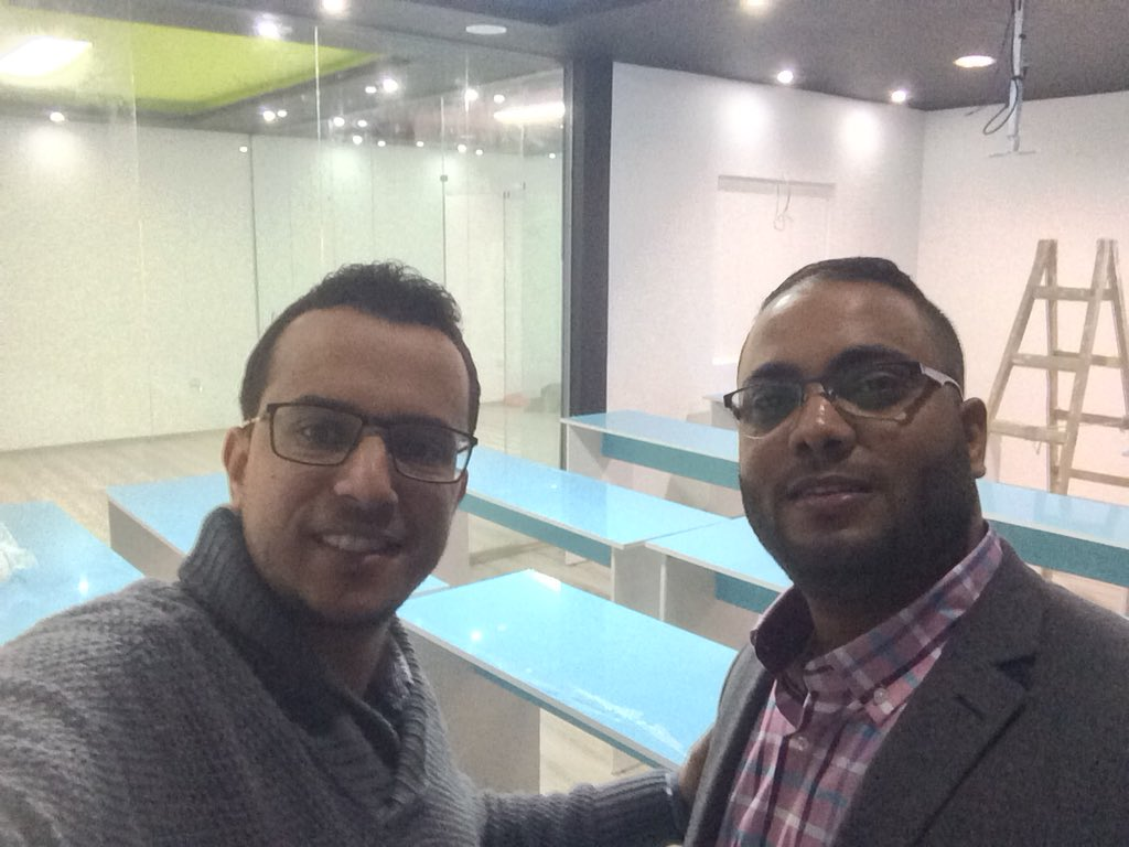 The guys @ByteOrgLy cooking up a cool place ... #2018 will be an exciting year for #Entrepreneurs in #Benghazi ... @RamiRMusa @NisaNajem<br>http://pic.twitter.com/ENBZobFEwr