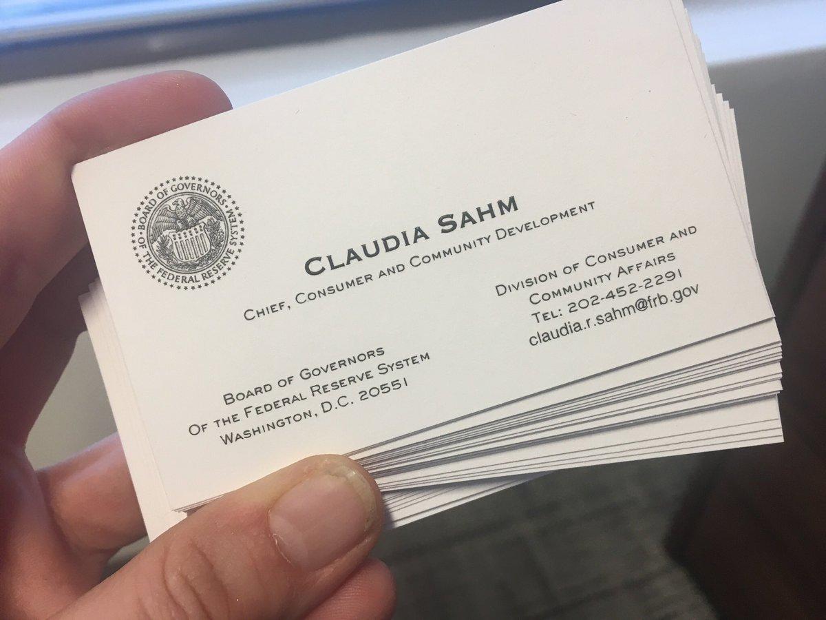 Claudia Sahm On Twitter Woot Woot Finally Got My New Business