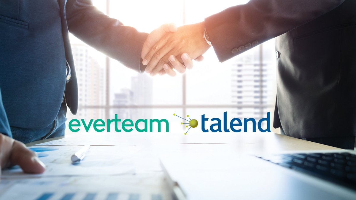 Everteam Gs On Twitter Everteam And Talend Signed A Master Value