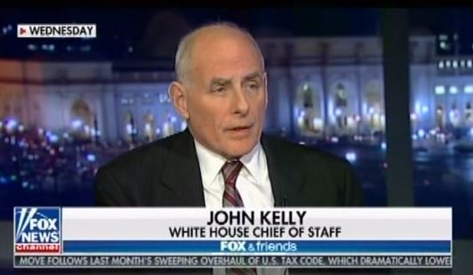 Left, Fox & Friends, 7:09 am  More wall talk and airing a comment from Kelly last night.  Right, Trump, 8:16 am https://t.co/41B8iBxyYI