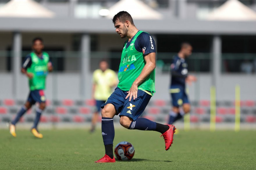 Felipe Vizeu no treino de hoje (19/01)....