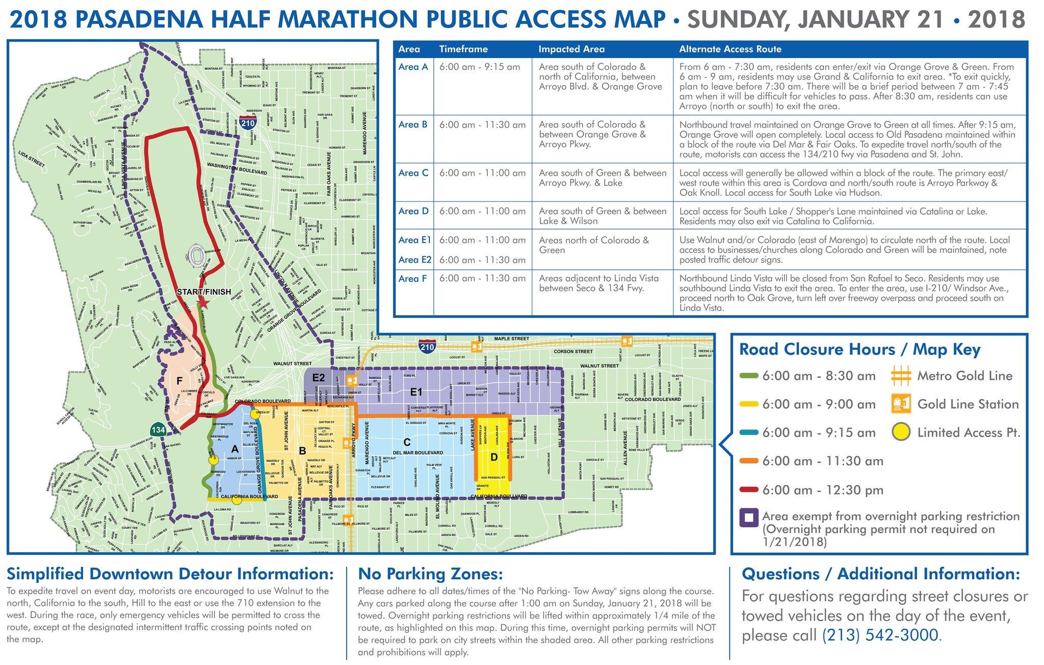 City of Pasadena on Twitter Pasadena Half Marathon and 5K is Jan