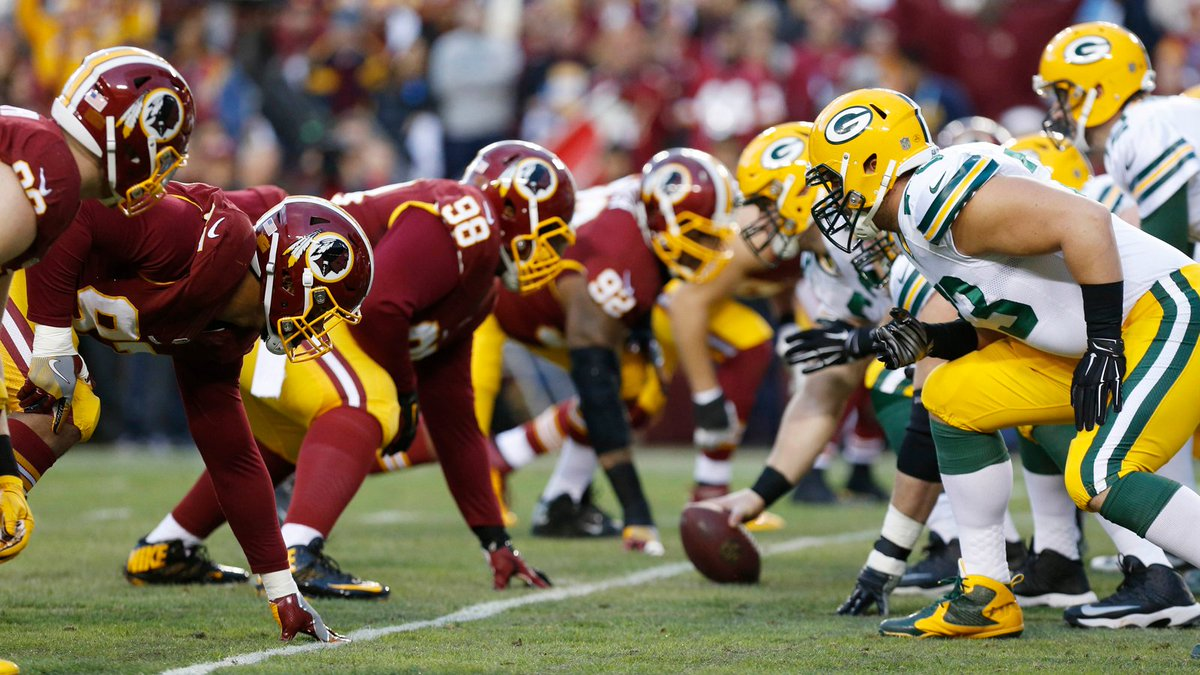 packers vs redskins