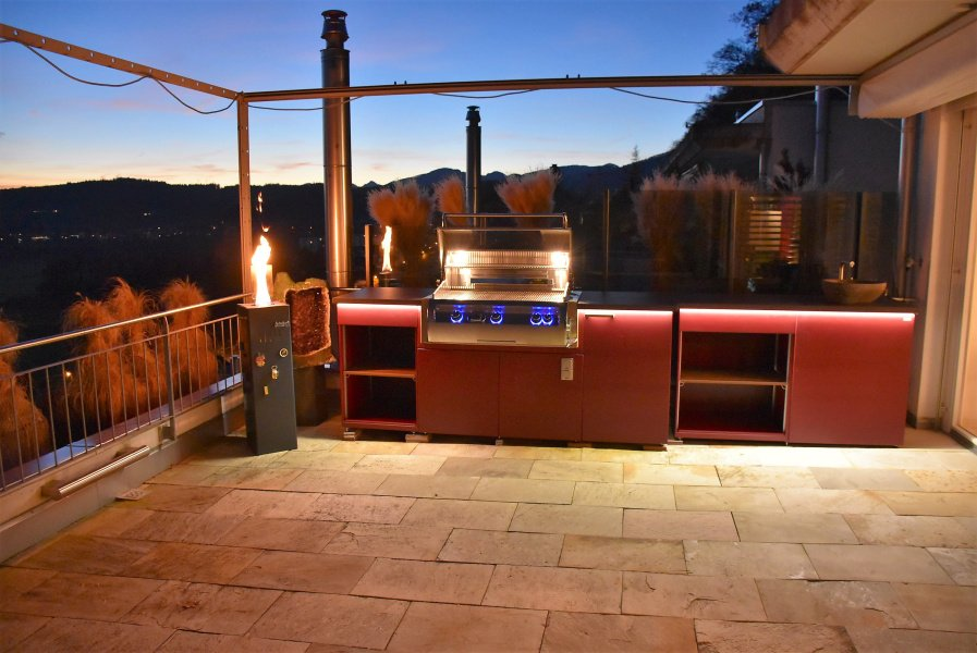 Planned By Hico Feuerland Switzerland Custommade Kitchen With Fire Magic Echelon E790 Bbq Outdoor Fridge Led Lighting Pic Twitter Dwuglddqup
