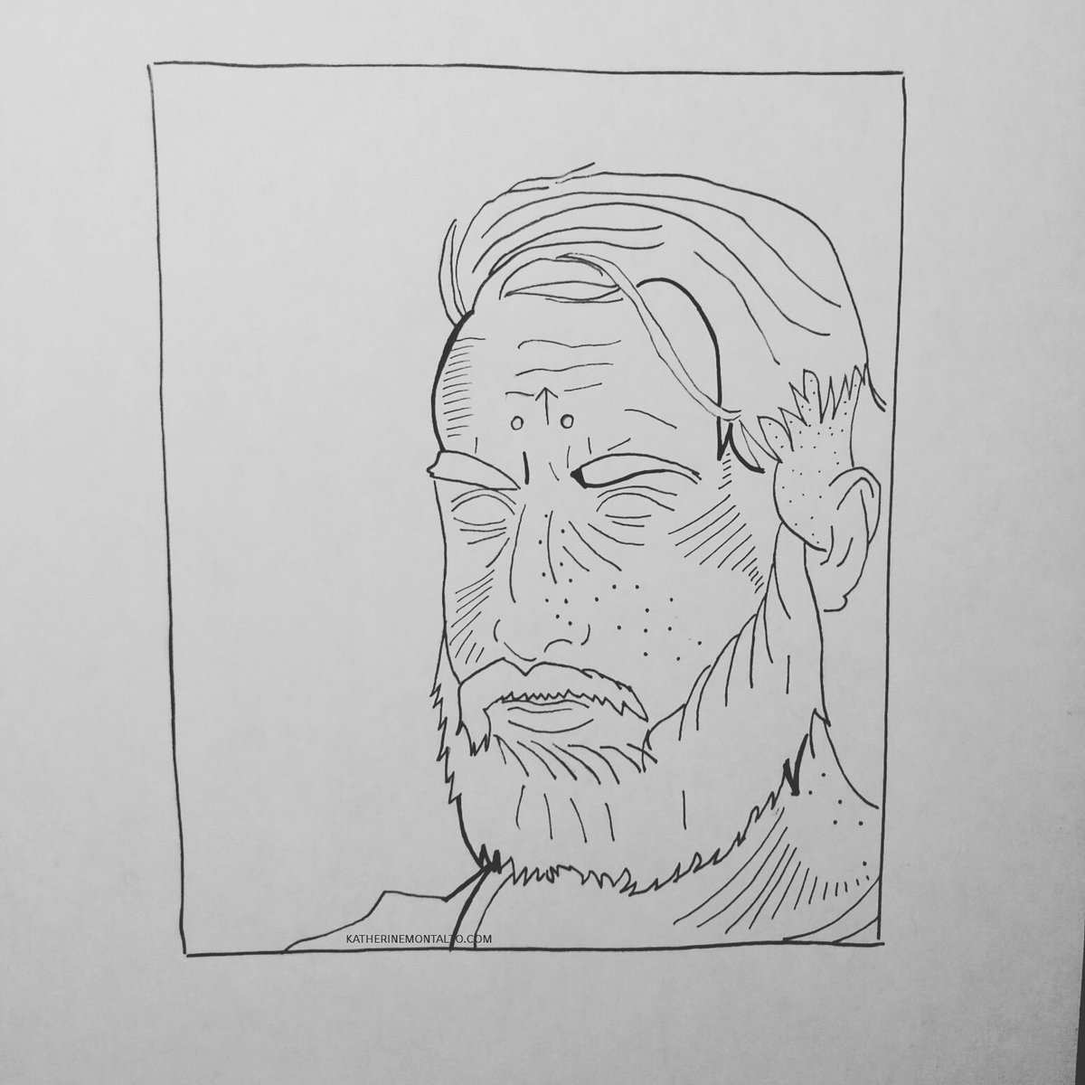 Marcus #illustration #lineart #drawing #art https://t.co/oLEFjDlgUi