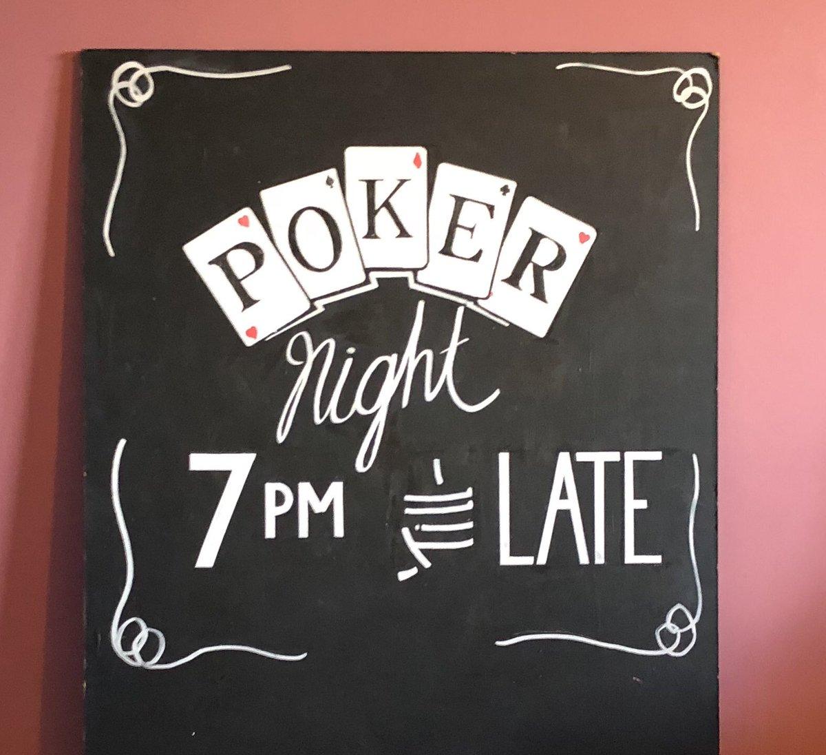 Poker Night blackboard art #pokernight #poker #pubblackboard #blackboardart https://t.co/4rWcDC5nhu