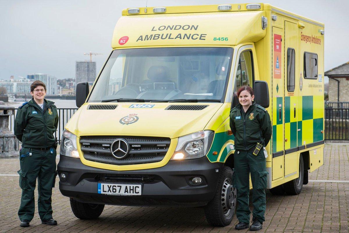 London Ambulance Service a Twitter: