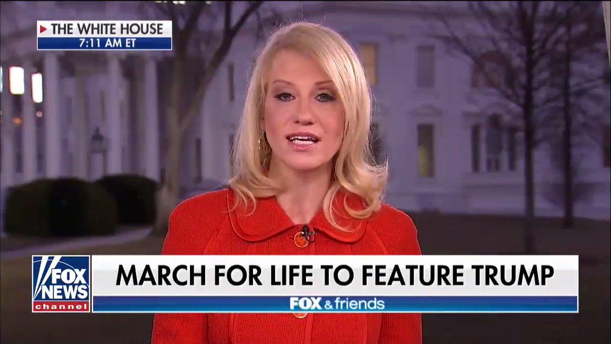 .@KellyannePolls: 'Donald Trump is the m...