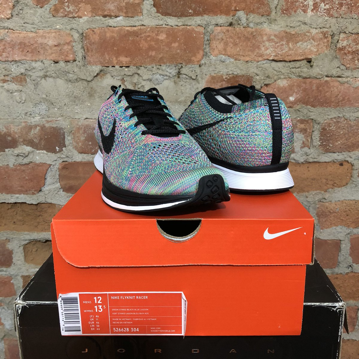 561d37d17ab87 ... order ds nike flyknit racer 2017 multicolor size 12 135 shipped dm to  purchase rts appreciatedpic ...