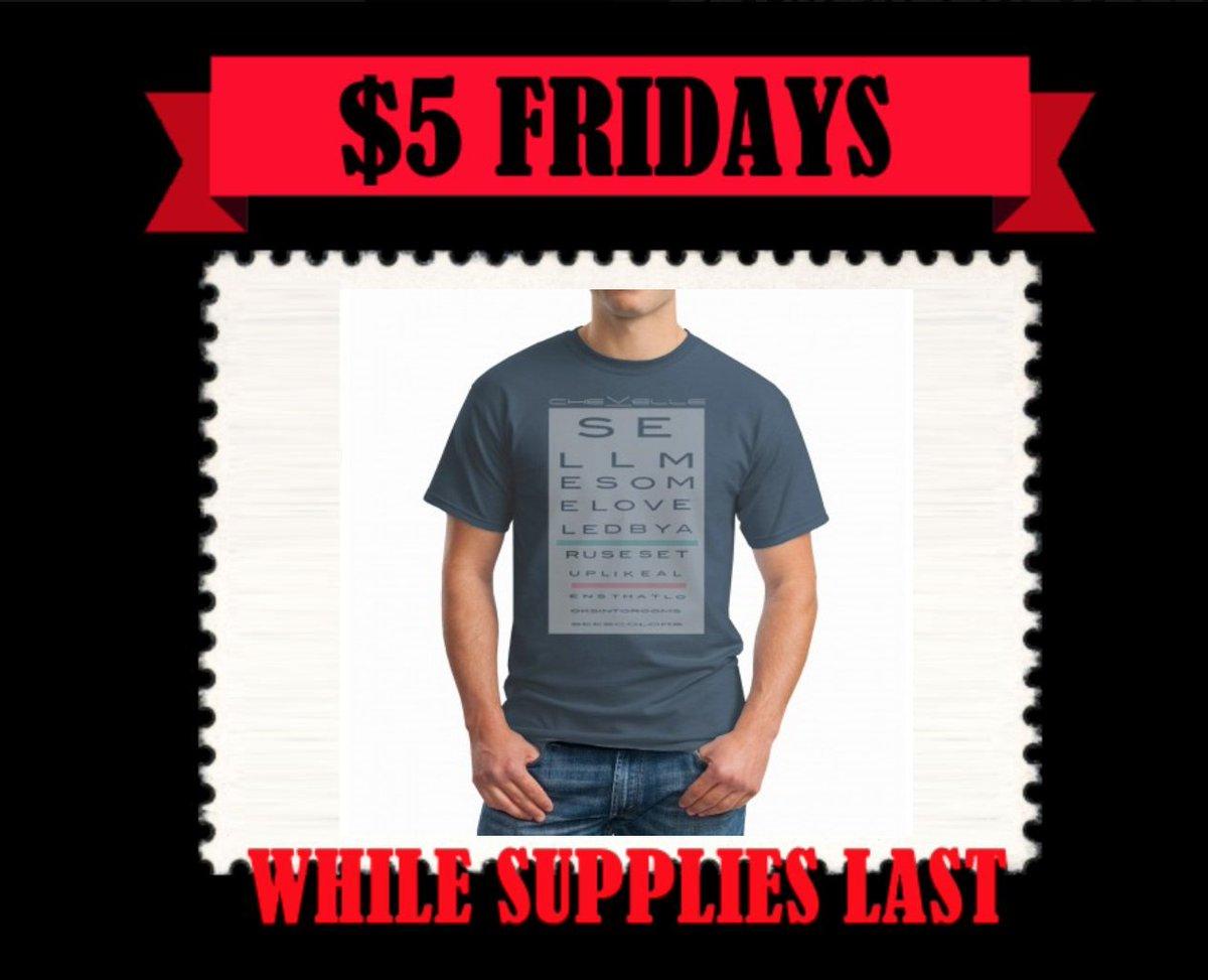 This weeks $5 Friday is Ruse! getsomemerchandise.com/ruse-lyric-tee