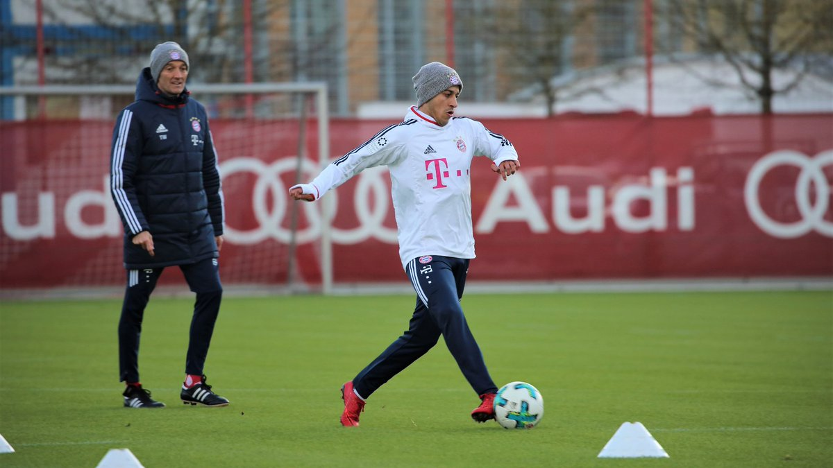 More good news: @Thiago6 trained for the...