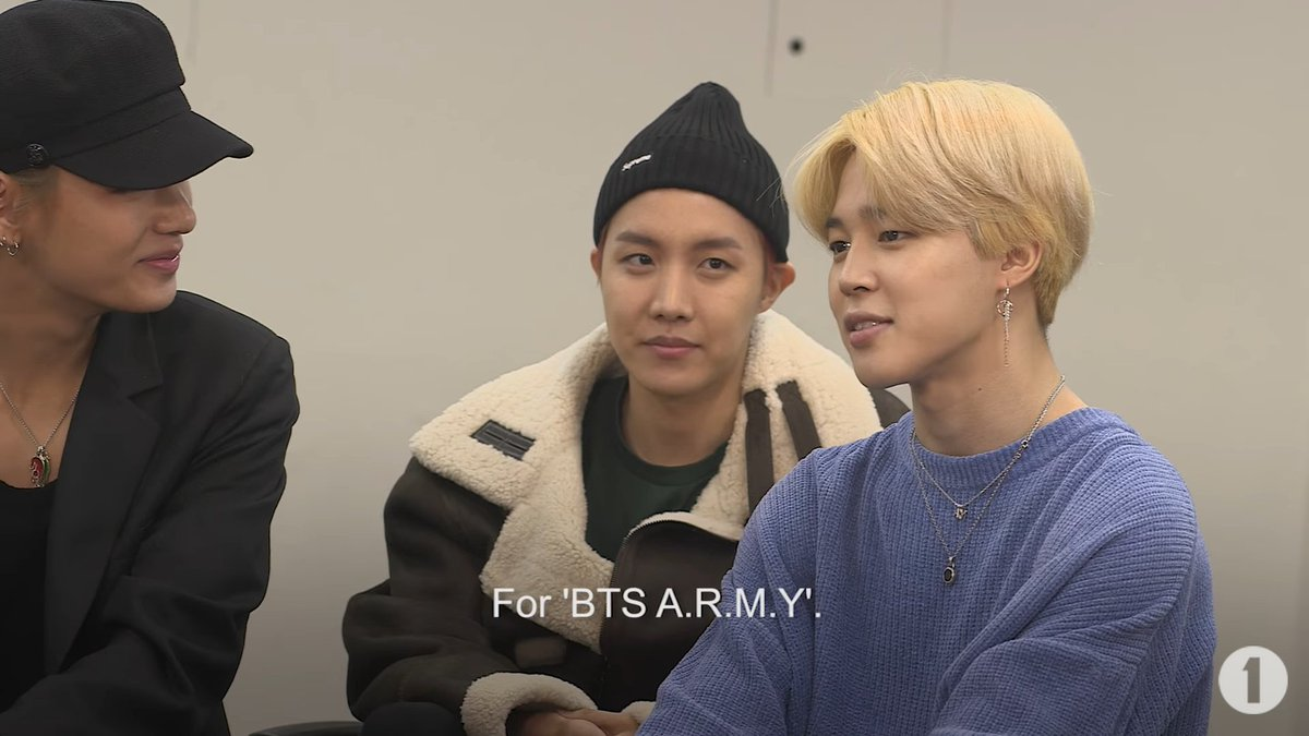 Why do you do this? JM: For #BTSARMY   A...