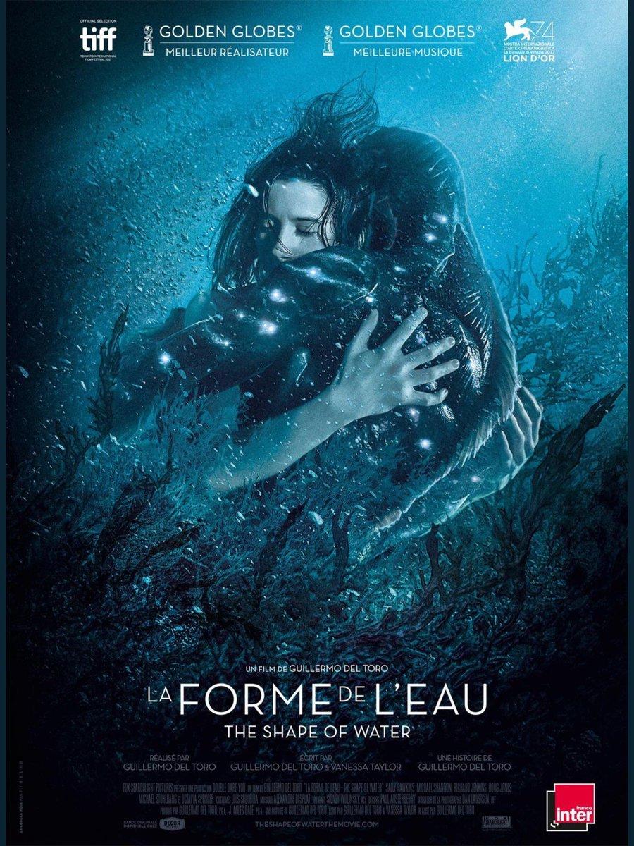 Magnifique affiche FR pour #LaFormeDeLEau #TheShapeOfWater !   - FestivalFocus