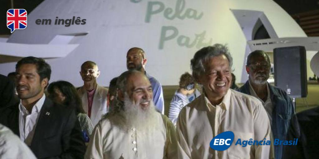 "Spiritual leader advocates ""new revolution"" against global water crisis https://t.co/o9E2aNdDLK 📷Fabio Rodrigues Pozzebom/Agência Brasil"