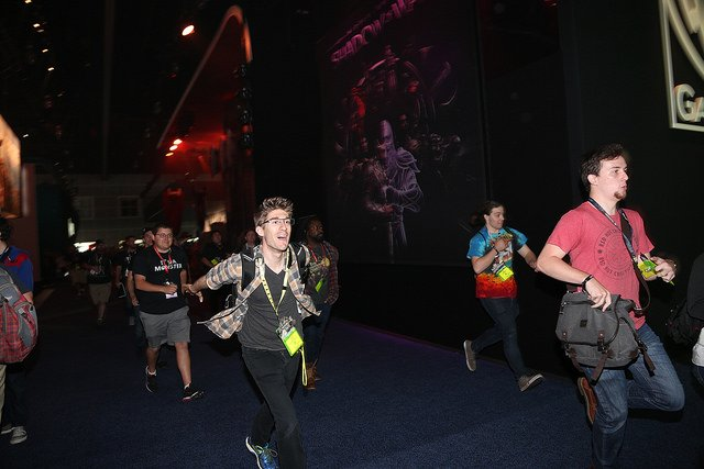 Running into convention season like... Have you ever tried to be the first in line at E3? https://t.co/rKhbdkK9rc