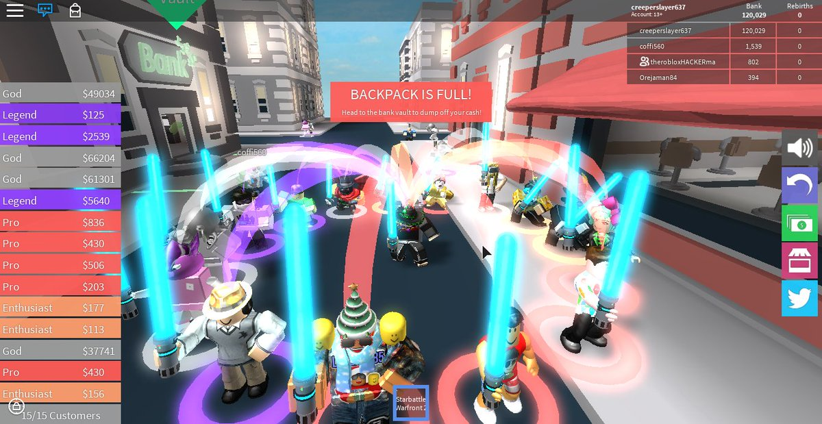 Codes For Cash Grab Simulator 2019