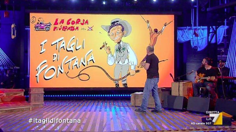 Secondo concorrente  #itaglidifontana #lacorsapiùpazzadelvoto #propagandalive https://t.co/ayzazjtoxl