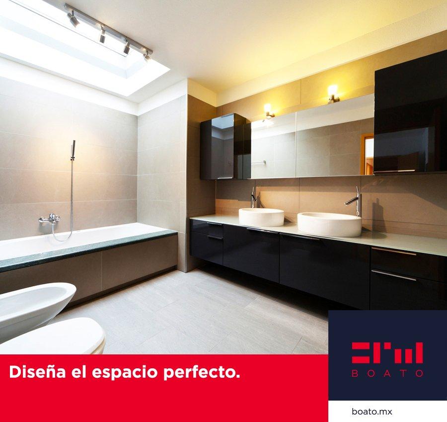 Diseña y decora el espacio perfecto de tu baño.  Gran variedad en diseños de pisos, lavanetas y bañeras.  #BOATO #InteriorDesign #PisosYBaños https://t.co/PMQXqgczEs