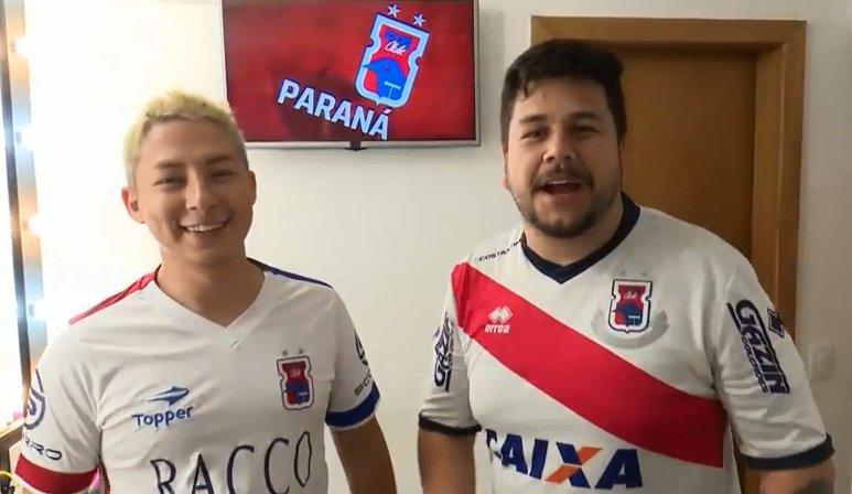 LÁ VEM O #FANÁTICOSPARANÁ! Serginho e Ja...