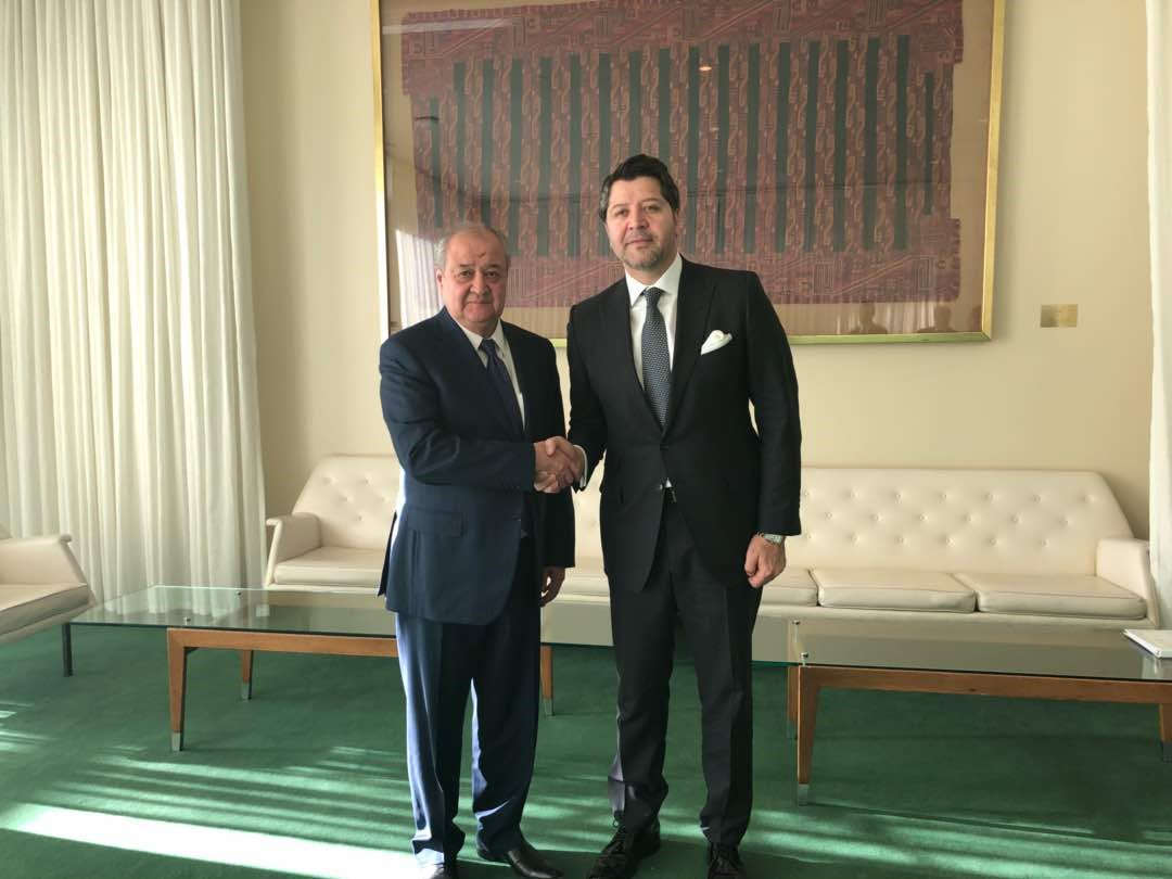 On the margins of #UNSC debate on #Afghanistan & Central Asia, Afg DFM @HekmatKarzai held bilateral meetings with #Uzbekistan, #Poland & #Netherlands Foreign Ministers Kamilov, Czaputowicz & Zijlstra, #UK Minister of State Field, #US Dty Sec of State Sullivan & #Kazakhstan DFM.