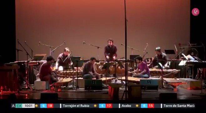 Si te gusta la percusión y quieres marcar el ritmo del fin de semana... esta noche podrás disfrutar en @lopezdeayala con 'Drumming' 🥁 #EXN https://t.co/ygaN8mKqIs