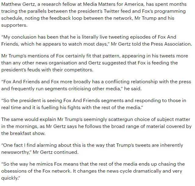 I talked about the Trump-Fox feedback loop with @ajreid @pa https://t.co/2iC3pvtpIQ https://t.co/rB1oNU99Wc