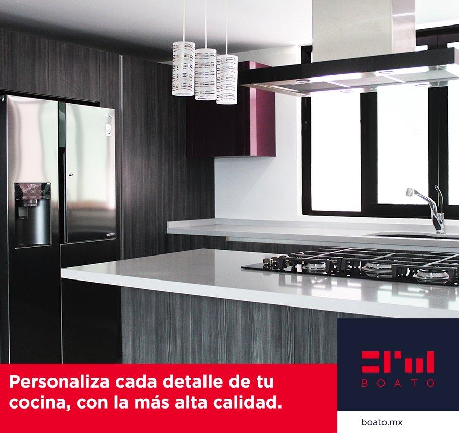 Personaliza cada detalle en tu cocina, con la más alta calidad en electrodomésticos, materiales, y acabados.  Cumple tu sueño y convierte tu cocina en una realidad.  #BOATO #InteriorDesign #KitchenDesign https://t.co/HfwRZ9lPRa