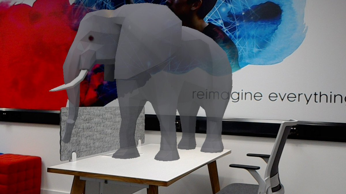 Look who came to visit us in the Enterprise &amp; Innovation Hub today!! Our VR suite is almost up and running  We can't wait to see how @HeriotWattUni Entrepreneurs make use of it to test their products. Come and visit us in the James Watt Centre #entrepreneurs #elephantintheroom<br>http://pic.twitter.com/Sur9Mc8Z6v