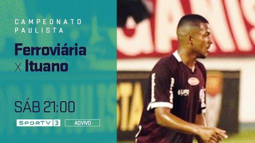 Mais um duelo do Campeonato Paulista na tela do SporTV.  Veja neste sábado, às 21:00, ao vivo, no SporTV3 e SporTV Play! #NossoFutebol