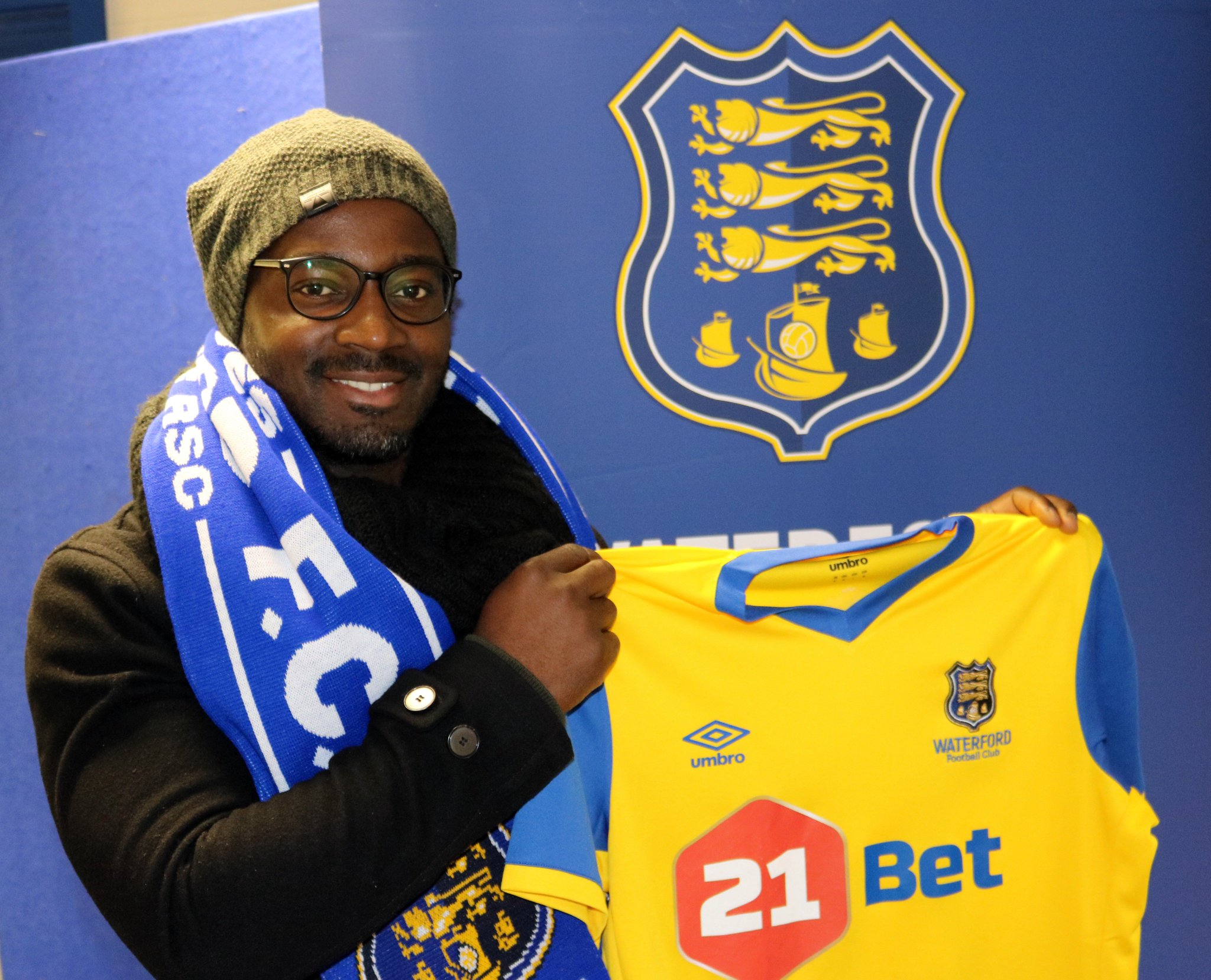 """Waterford FC on Twitter: """" INCOMING: We are delighted to confirm the latest  addition to our 2018 SSE Airtricity League Premier Division Squad. 30  year-old former Portsmouth and Notts County midfielder Stanley Aborah.  #Blues … https://t.co/eBNuwjdbWC"""""""