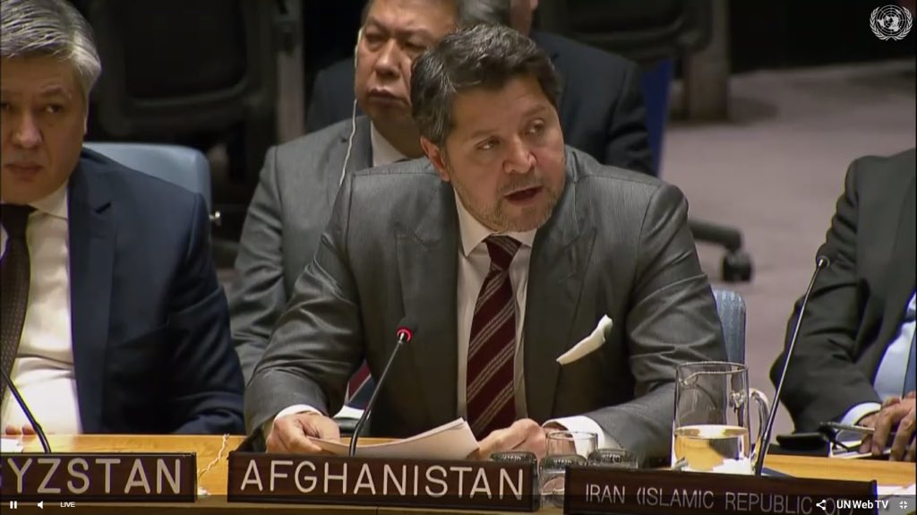 DFM H Karzai @ #UNSC: Afghanistan's stability & dev should not be seen in isolation from security/stability of countries in our periphery+beyond. The imperative of deepened coop between Afg & C.A. States on common challenges+promoting our shared prosperity has gained new impetus.