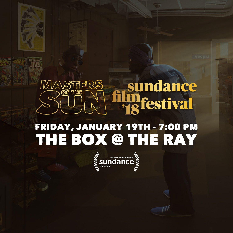 Catch us tonight at the @MOTSComic VR screening at @sundancefest. 7p. #Sundance https://t.co/h0EDN3KhJa