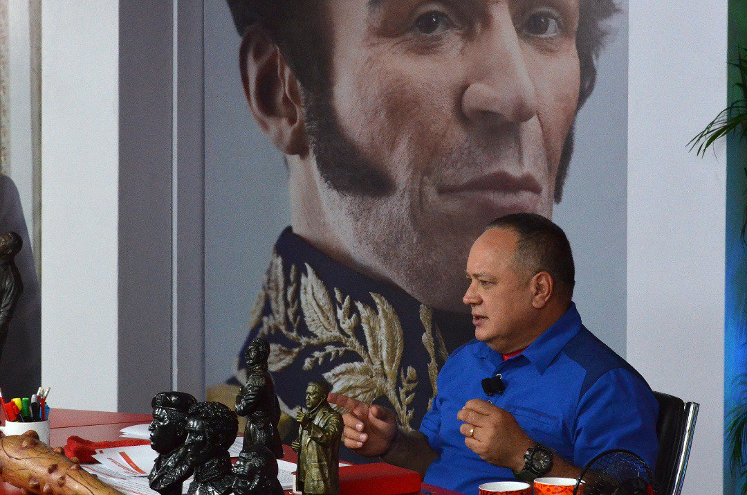 Cabello advirtió al pueblo de campaña fa...