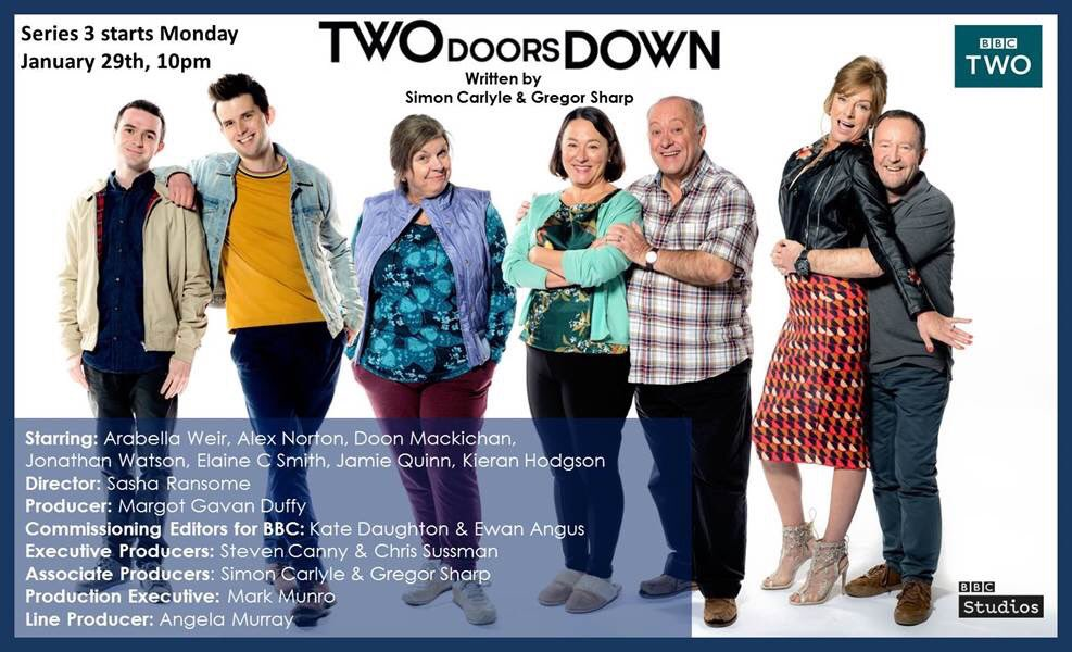 Series 3 of #TwoDoorsDown starts January...