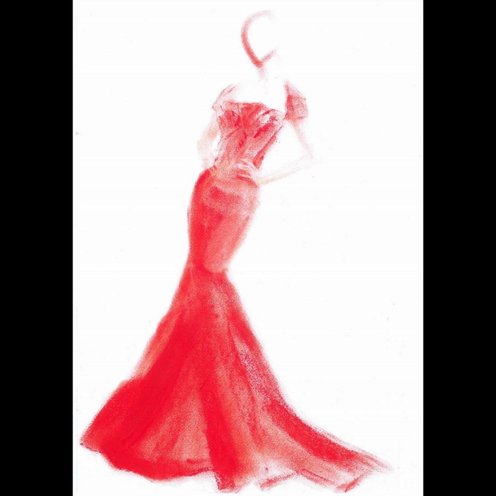 RT @Marc_McGreevy: She wore a red dress.. #Art #Artist #Fashion #Illustration #MarcMcGreevy https://t.co/x6T7n2ImU7