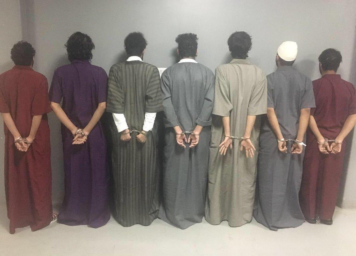 عاجل 🔴 . . شرطة #الرياض تقبض على 7 مواطن...