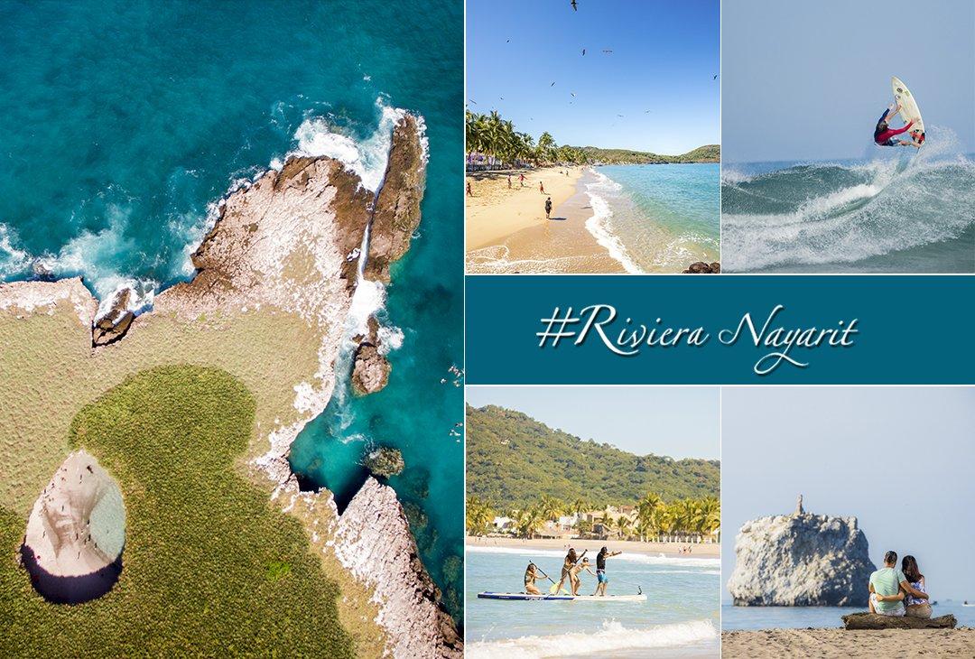 ¿Qué playas de #RivieraNayarit visitarán...