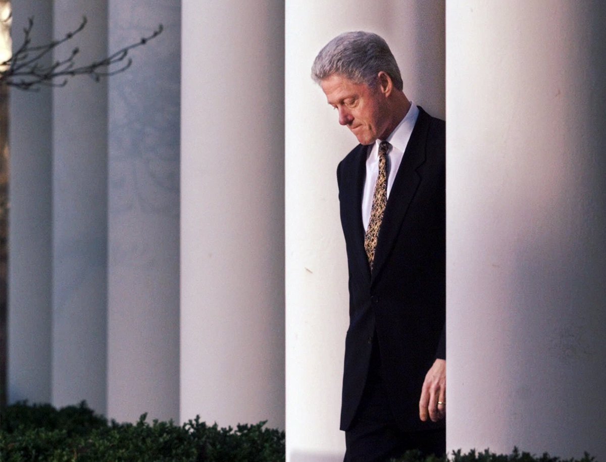 bill clintons character helps him get through his lifes crisis Clinton, the second president in american history to be impeached, vowed to finish his term in november 1995, clinton began an affair with monica lewinsky , a 21-year-old unpaid intern.