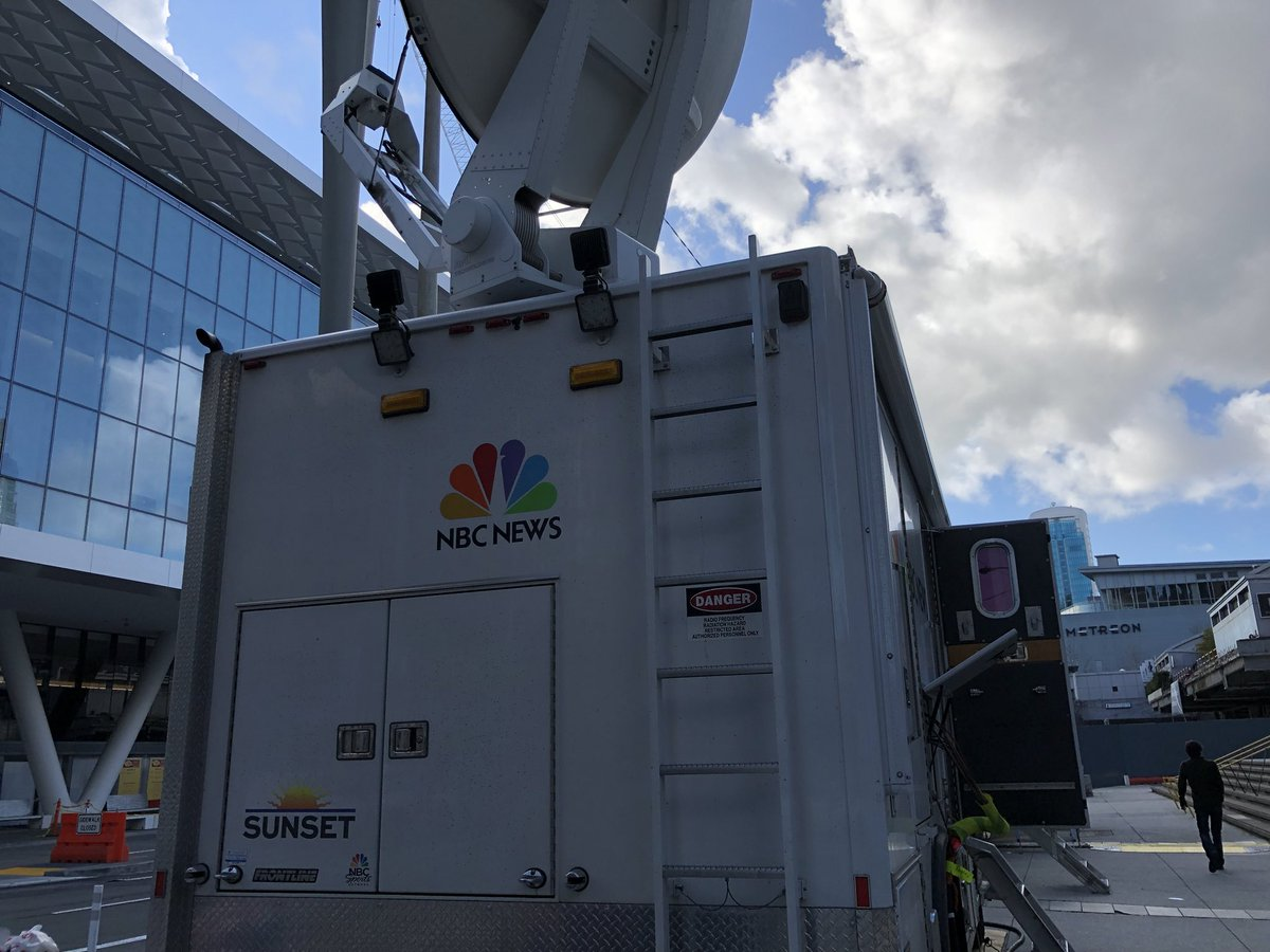 I'm at an MSNBC event where @karaswisher and @AriMelber will interview @sundarpichai and @SusanWojcicki for airing next Friday.