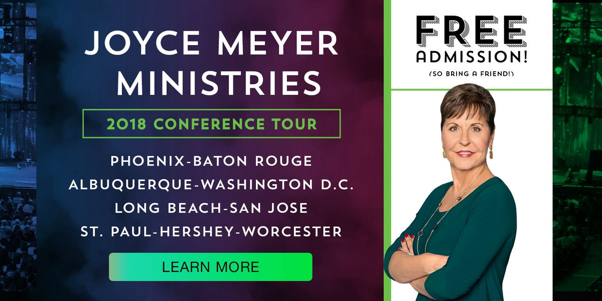 Joyce Meyer On Twitter This Year Joyce May Be Heading To