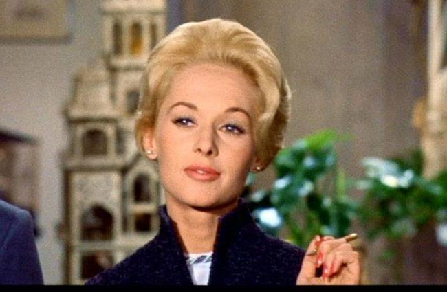 Happy birthday, Tippi Hedren. But I wish you wouldn\t look at me like that.