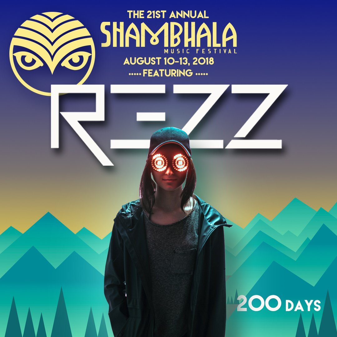 Shambhala unveils REZZ as first  2018 headliners - Dancing Astronaut