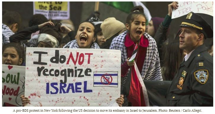 What we&#39;ve been saying all along: The BDS Movement doesn't want #peace, it wants to destroy #Israel, and for this reason, BDS has attracted support from terrorists, convicted killers and antisemites in the US and abroad.  http:// ow.ly/lVGq30hT7HR  &nbsp;  <br>http://pic.twitter.com/9NRSZ5IkEJ