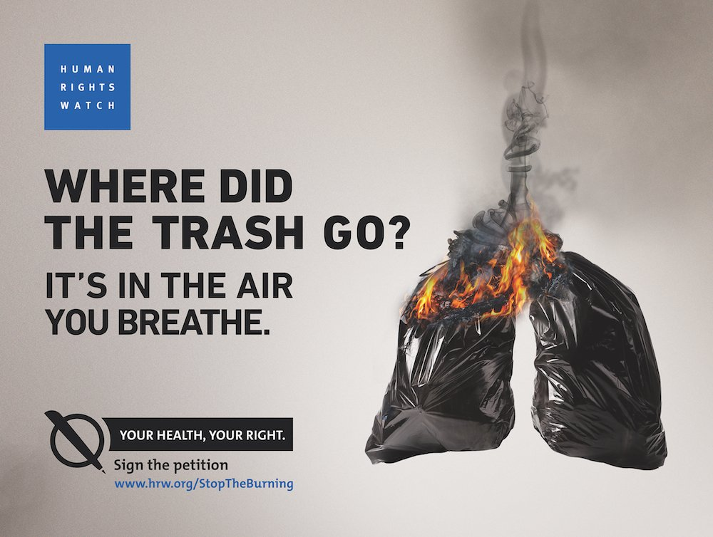 """""""As If You're Inhaling Your Death"""" Open burning of waste in #Lebanon is threatening health of nearby residents. Take action & tell the government to  #StopTheBurninghttps://t.co/qR8TduqCzP"""