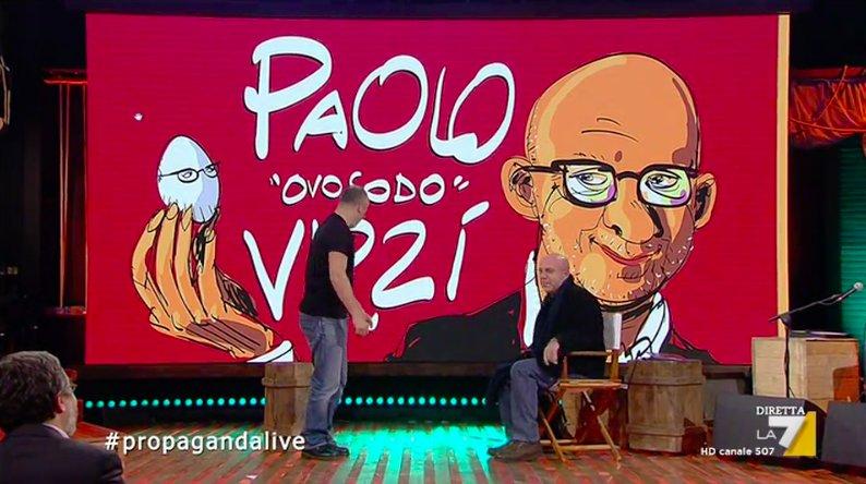 E a proposito di casting, Paolo Virzì  #makkoxtutorial #propagandalive https://t.co/idgvueqQka