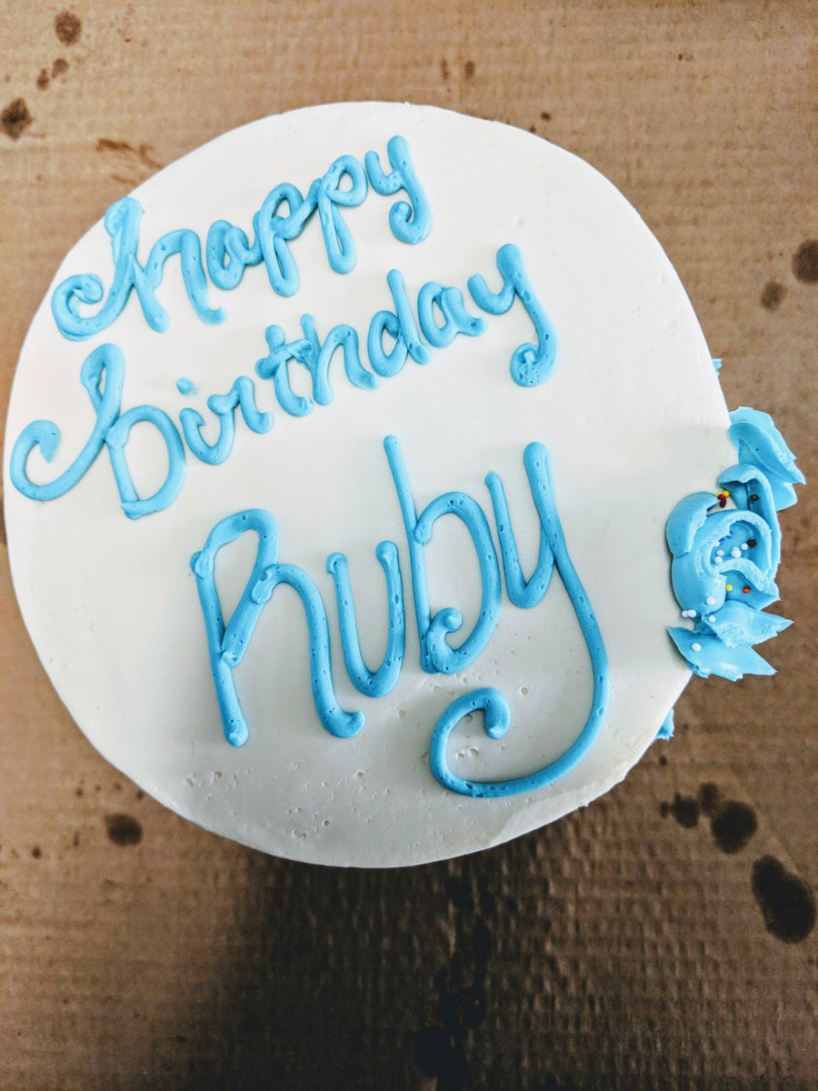 test Twitter Media - Team bday party today at EnerKnol!  Happy birthday Ruby! https://t.co/a2IoL7KP6w