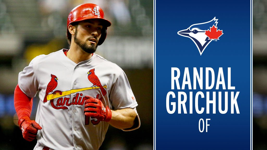Toronto Blue Jays's photo on Randal Grichuk