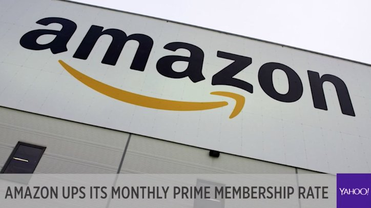 LIVE: Amazon hikes its monthly rate for Prime. Jeff Bezos wants you to think that it'd be irresponsible to not have Prime, @MylesUdland says https://t.co/yWTuP849Dd