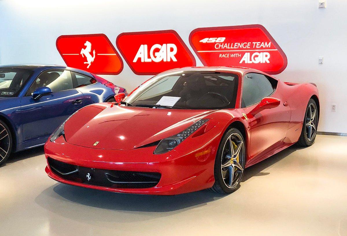 Algar Ferrari Of Philadelphia On Twitter You Can Never Go Wrong With A Classic 458italia Rossocorsa Algarferrari